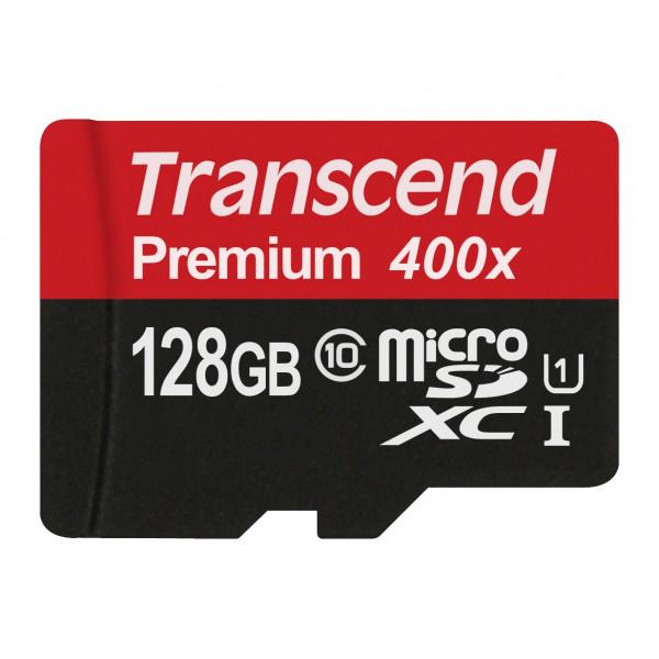 Transcend TS128GUSDU1P UHS-I 400x Premium Micro SDHC Class 10 Speicherkarte [Frustfreie Verpackung]-34